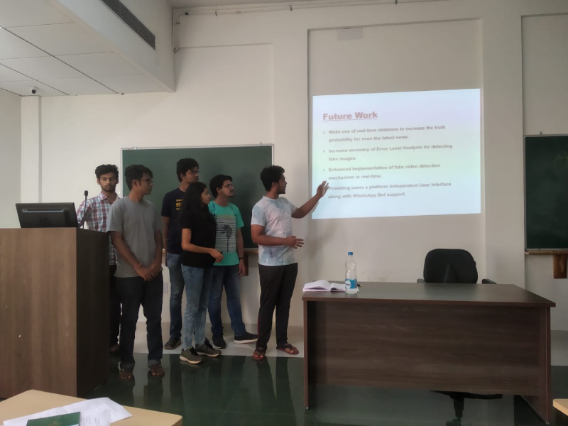 Initial selection for Smart India Hackathon 2020.
